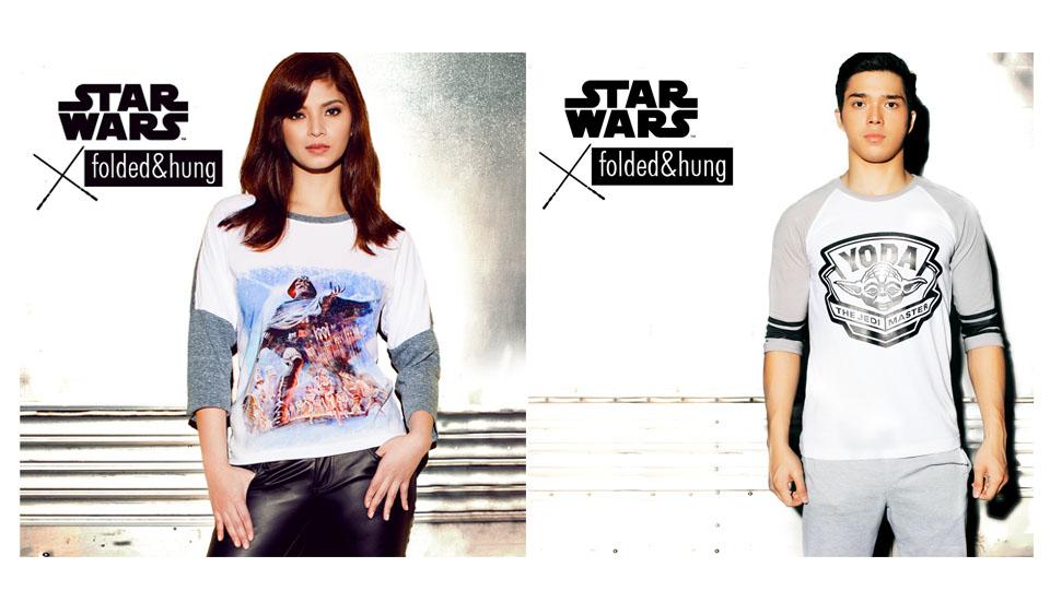 Angel Locsin Elmo Magalona Starwars Folded and Hung Fashion Philippines