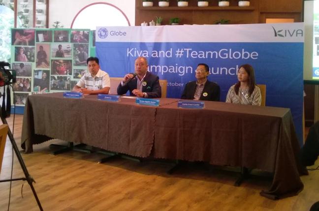 Globe Kiva Aracama Press Conference