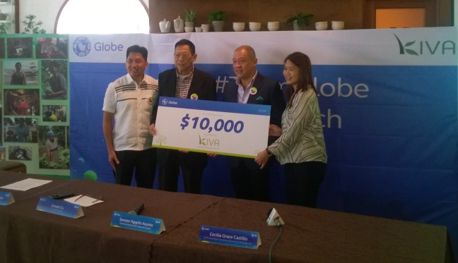 Globe Kiva Donated