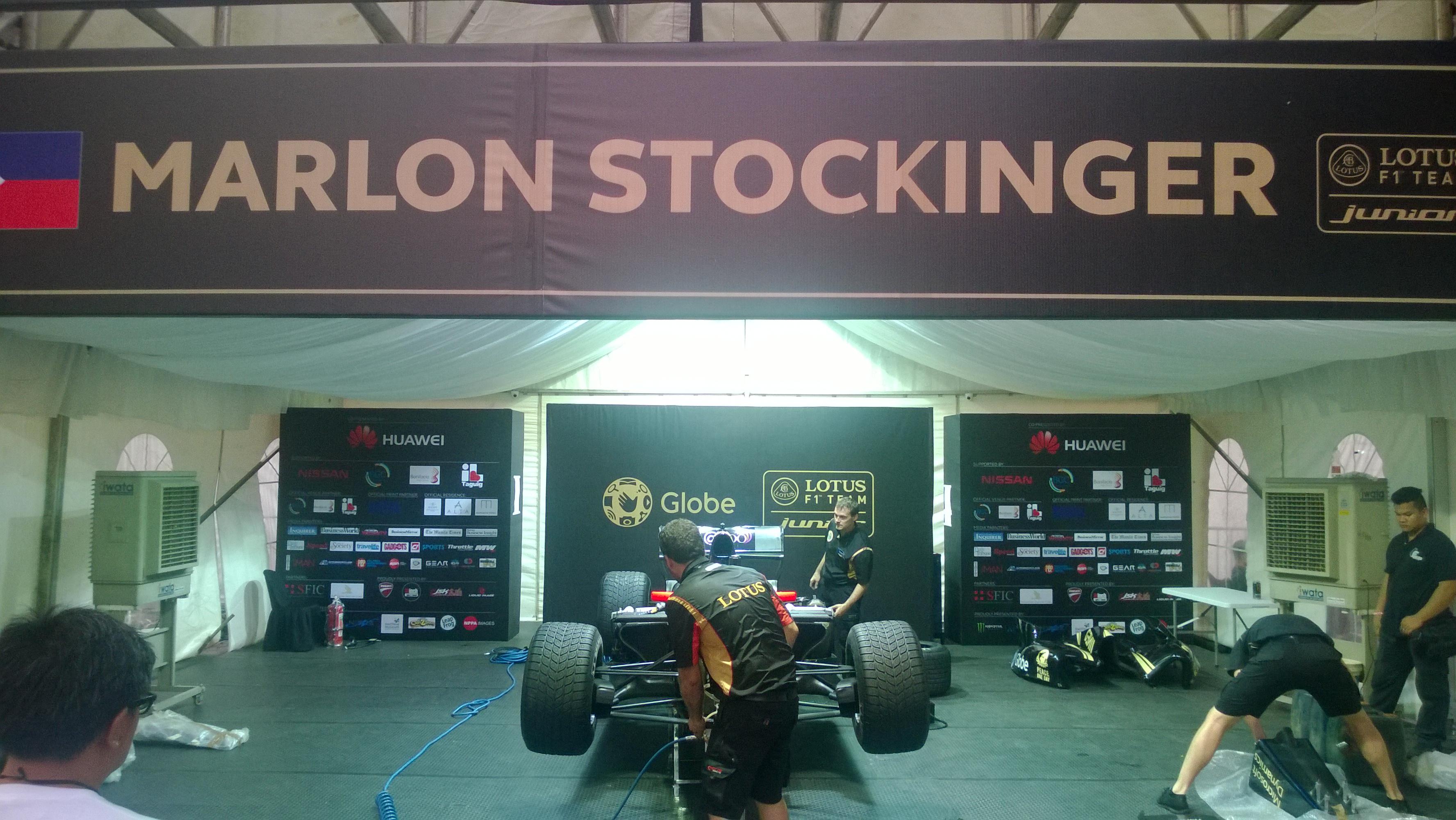 Globe Telecom Slip Stream Marlon Stockinger BGC Taguig Manila Philippines Duane Bacon Bilis Ng Pinoy Pit Stop