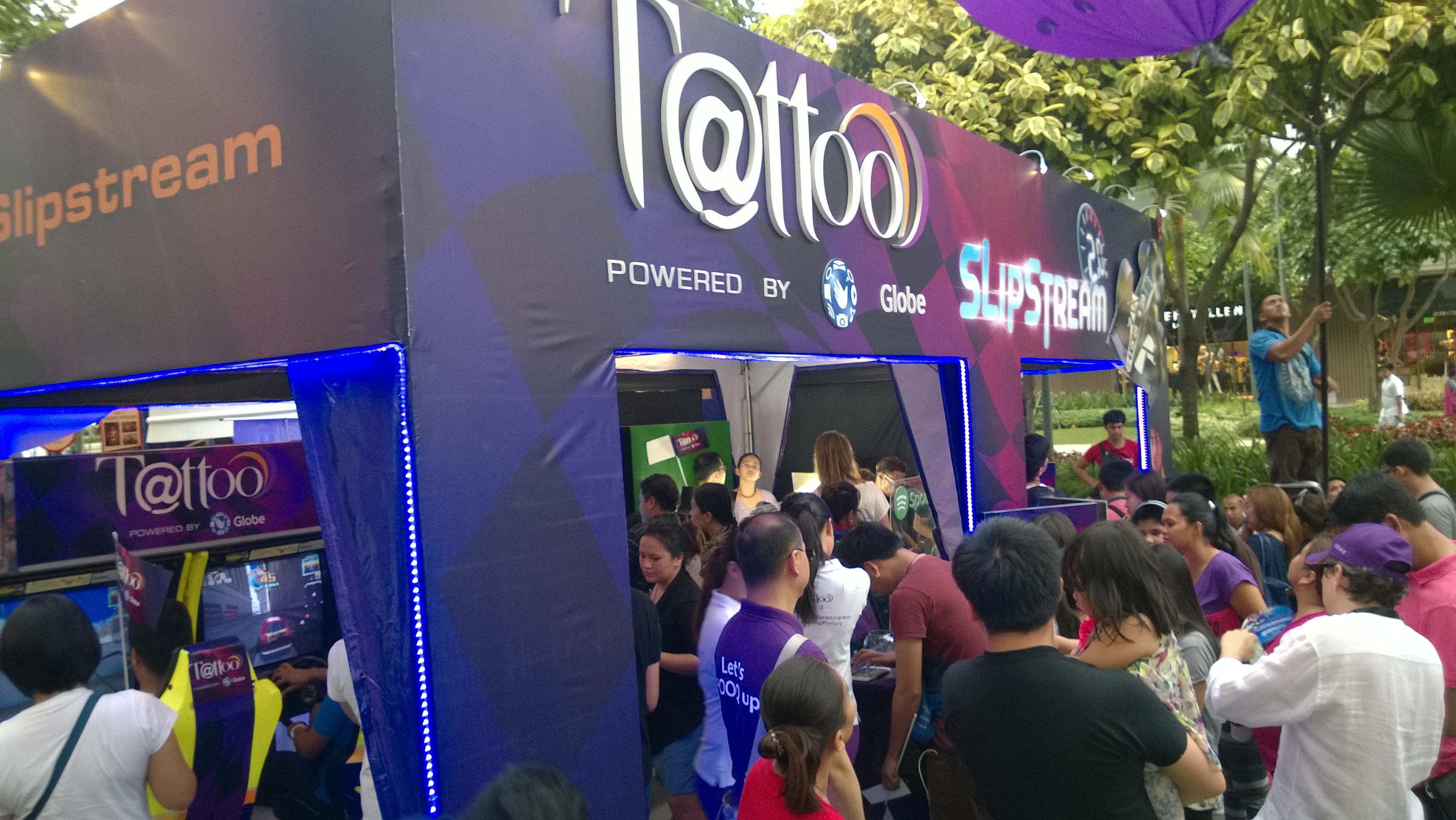 Globe Telecom Slip Stream Marlon Stockinger BGC Taguig Manila Philippines Duane Bacon Bilis Ng Pinoy Tattoo LTE Internet Provider