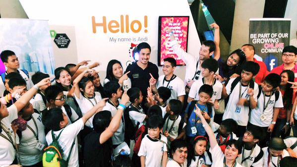 Globe Telecom Slip Stream Marlon Stockinger BGC Taguig Manila Philippines Duane Bacon Charity Children Groufie
