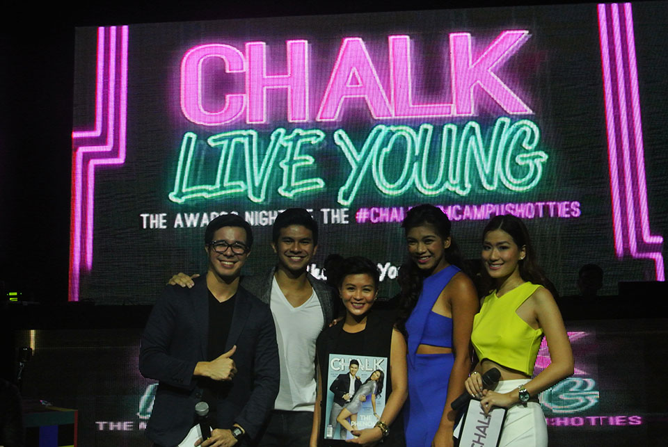 Chalk Bright Young Manila Magazine Duane Bacon Blog Blogger Maqui Castelo Zoe Vinluan Lifestyle College Student Music Inspiration Alysa Valdez Kiefer Ravena Events Live Young