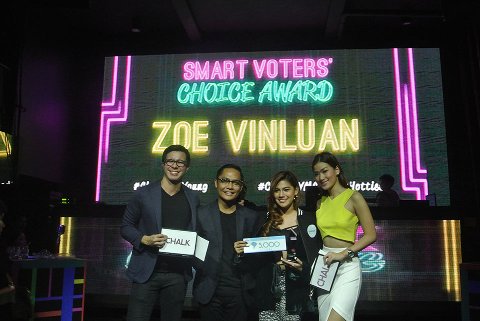 Chalk Bright Young Manila Magazine Duane Bacon Blog Blogger Maqui Castelo Zoe Vinluan Lifestyle College Student Music Inspiration Alysa Valdez Kiefer Ravena Events Smart Voters Choice